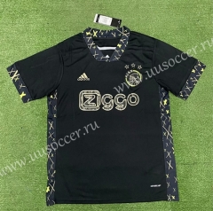 Special Version 2021-22 Ajax Black Thailand Soccer Jersey AAA