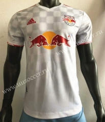 Player Version 2021-2022 New York Red Bulls White Thailand Soccer Jersey AAA