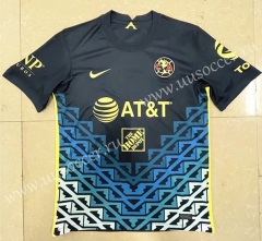 2021-22 Club América Alway Royal Blue Thailand Soccer Jersey-HR