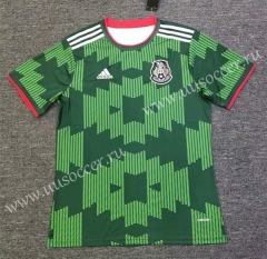 2021-22 Mexico Green Thailand Soccer Jersey AAA