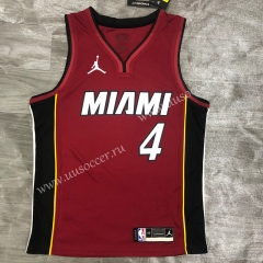 2020-2021 NBA Miami Heat Red #4 Jersey-311