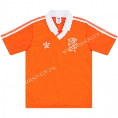 1990 Retro Version Netherlands Orange Thailand Soccer Jersey AAA-C1046