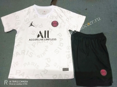 2021-22 PSG White Kids/Youth Training Soccer Uniform