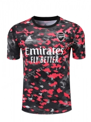 2021-2022 Arsenal Red & Black Thailand Soccer Training Jersey-418