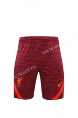 2020-2021 Liverpool Dark Red Thailand Soccer Training Shorts-418