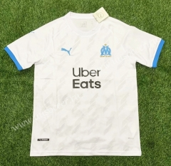 2021-22 Olympique de Marseille Home White Thailand Soccer Jersey AAA