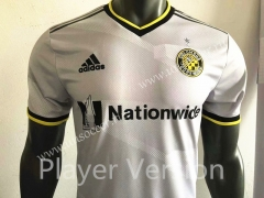 Player Version 2021-22 Columbus Crew SC White Thailand Soccer jersey AAA