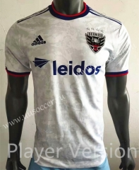 Player Version 2021-22 Houston Dynamo Away White Thailand Soccer Jersey AAA
