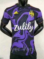 2021-22 Seattle Sounders FC Purple & Black Thailand Soccer Jersey AAA-FL
