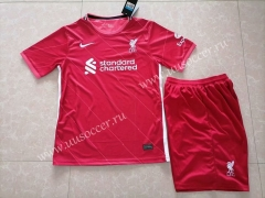 2021-22 Liverpool Home Red Thailand Soccer Uniform
