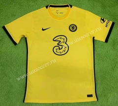 2021-22 Chelsea Away Yellow Thailand Soccer Jersey AAA