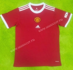 Retro Version Manchester United Home Red Thailand Soccer Jersey AAA-C2128