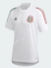 2021-22 Mexico White Thailand Training Soccer Jersey-802