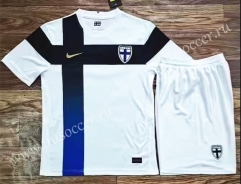 2021-22 Finland Home White Soccer Uniform-AY