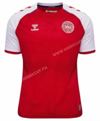 2021-22 Denmark Home Red Thailand Soccer Jersey AAA-503