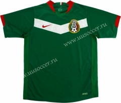 Retro Version 2006 Mexico Green Thailand Soccer Jersey AAA-HR
