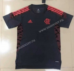 2021-2022 CR Flamengo Black Thailand Soccer Training Jersey-908