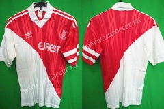 94-95 Retro Version Monaco Home Red & White Thailand Soccer Jersey AAA-503