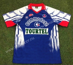92-93 Retro Version Paris SG Home Blue Thailand Soccer Jersey AAA-503