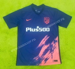 2021-2022 Atletico Madrid Away Blue Thailand Soccer Jersey-C2128