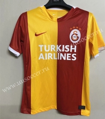 2021-22 Galatasaray SK Home Red & Yellow Thailand Soccer Jersey AAA-711