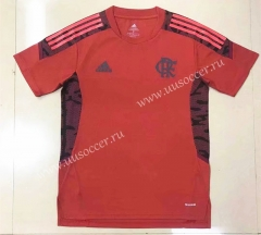 2021-2022 CR Flamengo Red Thailand Soccer Training Jersey-908
