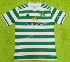 2021-22 Celtic Home White & Green Thailand Soccer Jersey AAA-C2128