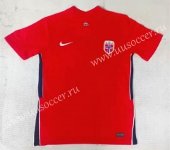 2021-22 Norway Home Red Thailand Soccer Jersey-709