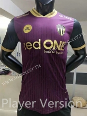 Player Version 2021-22 Terengganu Away Purple Thailand Soccer Jersey AAA