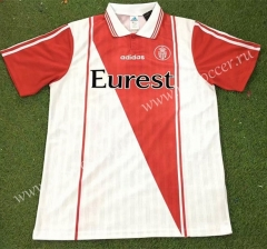 96-97 Retro Version Monaco Home Red & White Thailand Soccer Jersey AAA-503