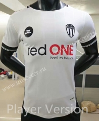 Player Version 2021-22 Terengganu Away White Thailand Soccer Jersey AAA