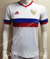 Player Version 2021-22 Russia Away White Thailand Soccer Jersey AAA-807