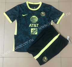 2021-22 Club America Royal Blue Soccer Uniform-AY