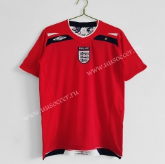 2008-2010 Retro Version England Red Thailand Soccer Jersey AAA-C1046