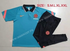 2021-22 Chelsea Green Thailand Polo Uniform-815
