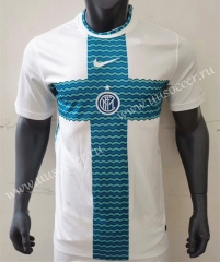 2021-22 Inter Milan White Thailand Soccer Jersey AAA-416