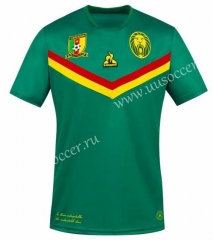 21-22 Cameroon Home Green Thailand Soccer Jersey-416