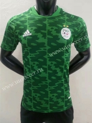 Player Version 2021-22 Algeria Away Green Thailand Soccer Jersey AAA