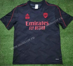 2021-2022 Arsenal Dark Gray Thailand Soccer Training Jersey-416