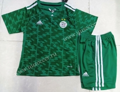 2021-22 Algeria Away Green Kids/Youth Soccer Uniform