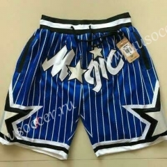 Orlando Magic Blue White & Blue NBA Shorts