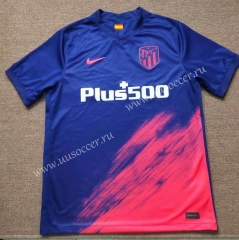 2021-2022 Atletico Madrid Red&Blue Thailand Soccer Training Jersey-416
