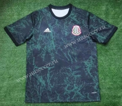 2021-2022 Mexico Dark Green Thailand Soccer Training Jersey AAA-416