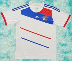 2012-2013 Olympique Lyonnais Home White Thailand Soccer Jersey AAA-HR