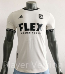 Player version 2021-2022 Los Angeles FC Home White Thailand Soccer Jersey AAA-HR