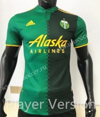 Player version2021-2022 Portland Timbers Green Thailand Soccer Jersey AAA-CS