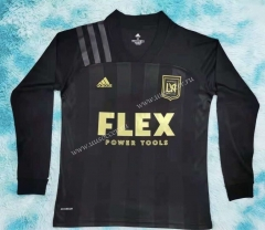 2021-22 Los Angeles FC Home Black LS Thailand Soccer Jersey AAA-HR