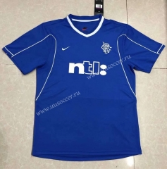 99-00 Retro Version Wolverhampton Wanderers Home Blue Thailand Soccer Jersey AAA-HR