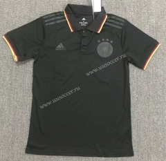 2021-2022 Germany Black Thailand Polo shirts-803