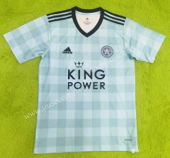 2021-2022 Leicester City Green Thailand Soccer Jersey AAA-2027